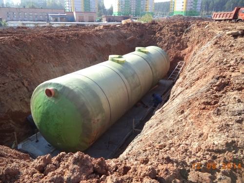 Модульные очистные сооружения смонтированные на объекте ТК Италмас г. Ижевск