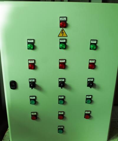 Шкаф управления для канализационной насосной станции