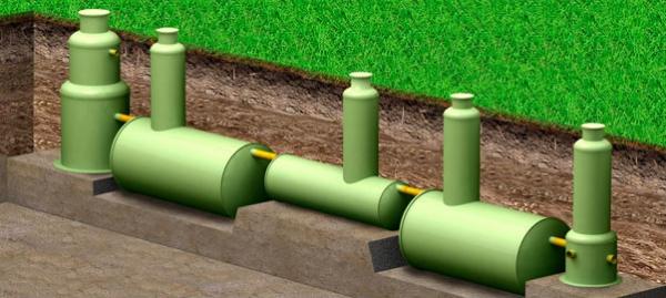 Ливневая канализация - тех колодцы